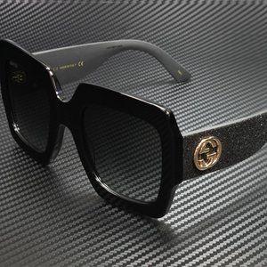 Gucci Blac 54mm Sunglasses